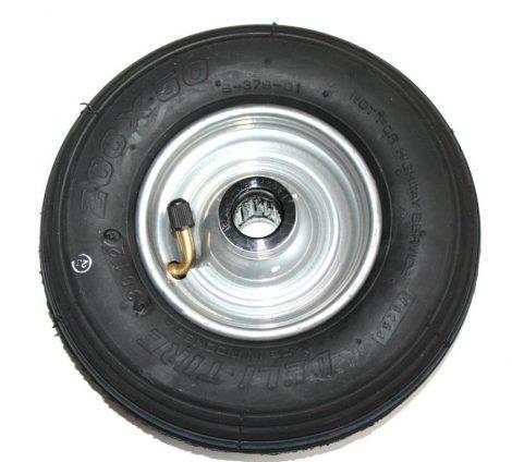 Ø 200 mm tartalék kerék molnárkocsi, kézikocsi, kiskocsi 200x50 átmérő 200 mm fúvott fém felni