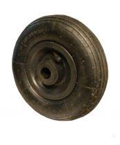 Ø 200 mm tartalék kerék molnárkocsi, kézikocsi, kiskocsi 200x50 átmérő 200 mm fúvott műanyag felni, görgőscsapágyas