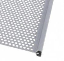 Lemez fogagó profil lemez befogó keret 20x20 mm 1,7 mm vastag lemezig kezeletlen acél 3000 mm0