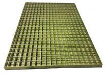 Horganyzott járórács fém rostélyrács 850x600x30 mm  lépcsőrács tüzihorganyzott rács