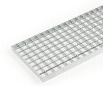 Horganyzott járórács fém rostélyrács 100x100x3 cm tüzihorganyzott teherbíró rács