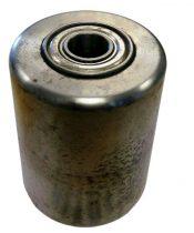 Ø 82 mm acél görgő raklapemelő, raklapmozgató Szélesség: 100 mm Tengely átmérő: 20 mm