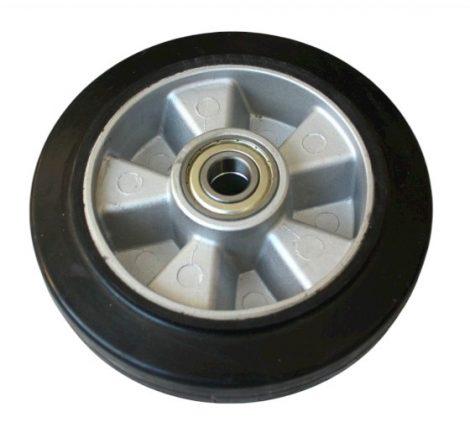 Ø 250 mm kerék raklapmozgató, raklapemelő számára. Alumínium felni gumi futófelület