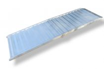 Rakodó rámpa keresztben összecsuható 215x105 cm 400 kg teherbírású