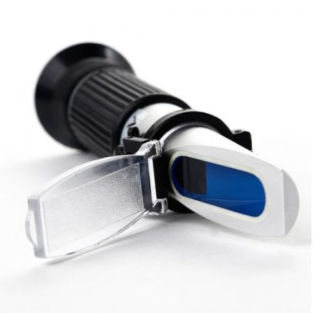 Refraktométer - Optikai fagyállómérő műszer - fagyálló, szélvédőmosó és akkumulátorsav