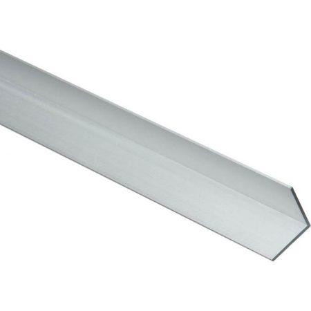 Alumínium sarokléc sarokprofil 20x20x2000 mm eloxált saroktakaró sarokvédő élvédő