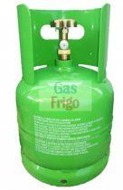 Klímagáz tartály SZÁLLÍTÁS SÉRÜLT 13 literes palack
