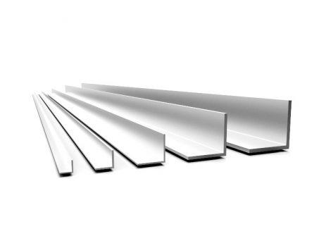 Alumínium sarokléc sarokprofil 25x25x2000 mm eloxált saroktakaró sarokvédő élvédő
