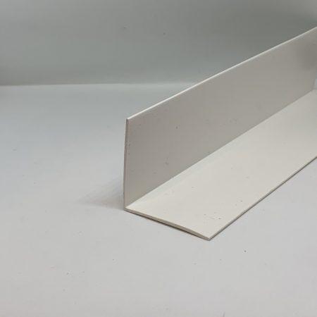 Műanyag sarokléc fehér sarokprofil 40x40x2500 mm