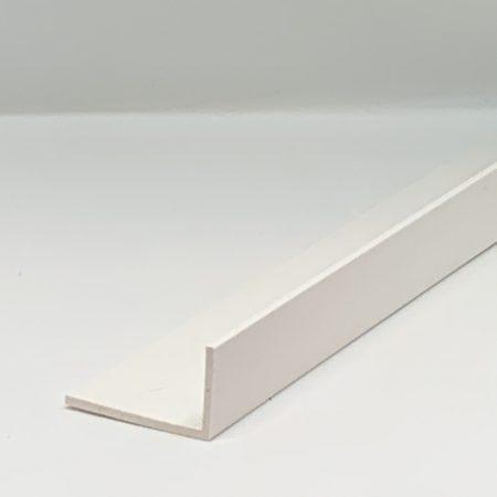 Műanyag sarokléc fehér sarokprofil 50x20x2500 mm