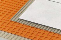 Ditra 25 vízszigetelő lemez erkély szigetelés teraszszigetelés 1m2