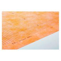 Kerdi-200 vízszigetelő lemez fürdőszoba zuhanyzó terasz erkély szigetelés 1m