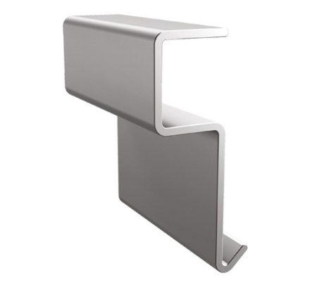 Stone erkélyszegély toldó elem 40 mm teraszprofil balkon élvédő