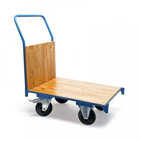 Szállítókocsi, húzható kézikocsi 180 kg teherbírás, 74 x 50 cm-es rakfelület