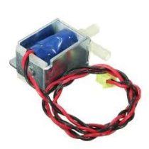 Mágnesszelep 12V mini szolenoid olajszelep, vízszelep, légszelep Csatlakozások: 5,5 mm