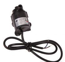 12V 5W 200 l/h Extra kisméretű keringető szivattyú JT160 2x8 mm csőcsatlakozások Vízbe meríthető IP68