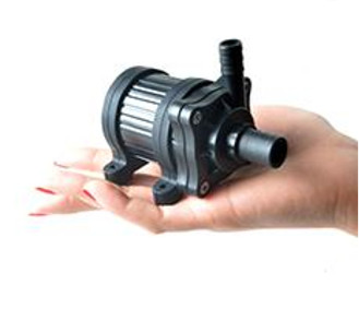 24V 24W 660 l/h szivattyú, pumpa IP68-vízmentes 14 és 10 mm bilincses 60 °C kenőszivattyú keringető