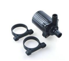 24 V 28,8 W 840 l/h szivattyú, pumpa IP68-vízmentes 14 és 14 mm bilincses 60 °C kenőszivattyú kering
