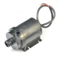 24V 12W 300 l/h akciós szivattyú, pumpa IP68-vízmentes 9 és 15 mm bilincses 65 °C kenőszivattyú keringető hűtőszivattyú