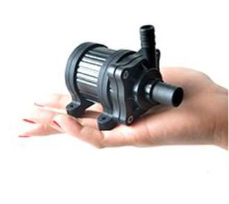 12V 14,4W 520 l/h szivattyú, pumpa IP68-vízmentes 14 és 10 mm bilincses csatlakozás 60 °C kenőszivat
