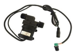 12V 14,4W 720l/h  olajálló vízálló keringető szivattyú sebesség szabályozóval, pumpa IP68-vízmentes