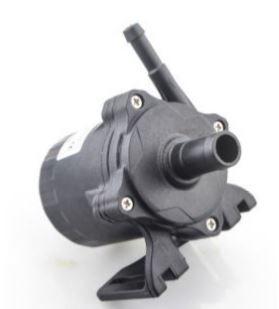 24V 80W 600 l/h Keringető szivattyú vízszivattyú pumpa IP68-vízmentes 7mm és 14mm bilincses