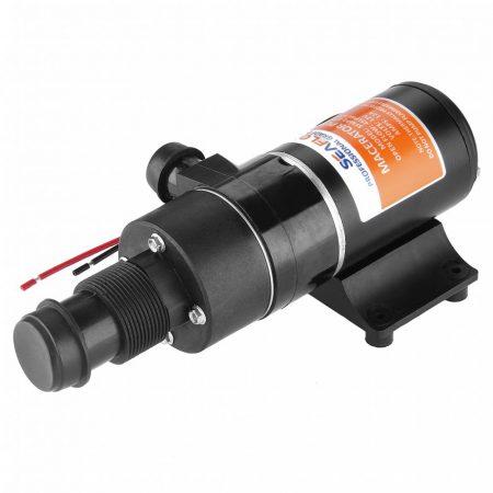 Szennyvíz szivattyú, 12V 45l/min beépített darálóval.