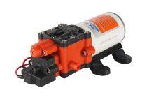 Önfelszívó membrán szivattyú 12V 66W 310 liter/óra pumpa permetező keringető vágógép hegesztőgép