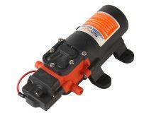 Önfelszívó membrán szivattyú 12V 48W 260 liter/óra pumpa permetező keringető vágógép hegesztőgép