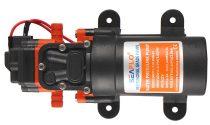 Önfelszívó membrán szivattyú 12V 48W 230 liter/óra 2,8 bar pumpa permetező keringető vágógép