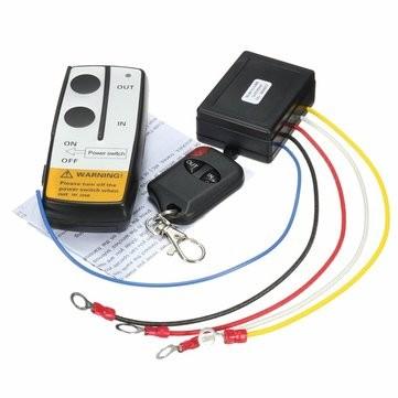 Távirányító készlet 12V csörlő vezérlésre is  434 MHz  1 db vízhatlan ávirányító