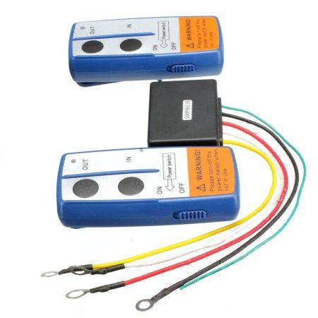 Távirányító készlet 12V csörlő vezérlésre is 315 MHz  2 db vízhatlan távirányítóval. Távvezérlő szet