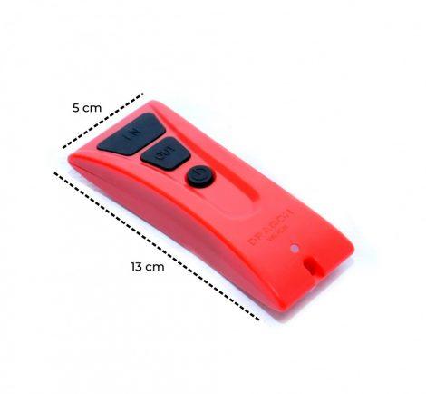 Távirányító készlet Dragonwinch csörlőhöz, 12V vezérléssel 1 db vízhatlan távirányítóval. Távvezérlő szett XL
