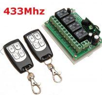 Távirányító készlet 433 MHz  2 db távirányítóval.