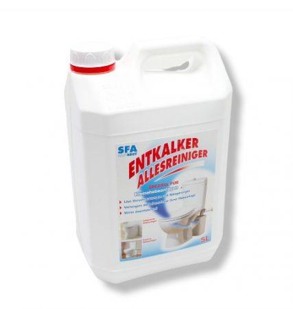 Tisztítószer darálós szennyvíz szivattyú WC átemelő pumpa számára 5 liter 5 alkalomra elegendő