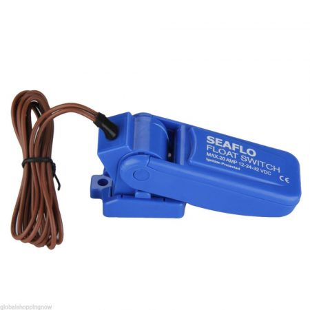 Vízszint kapcsoló 12V 24V úszókapcsoló búvárkapcsoló folyadékszint kapcsolás
