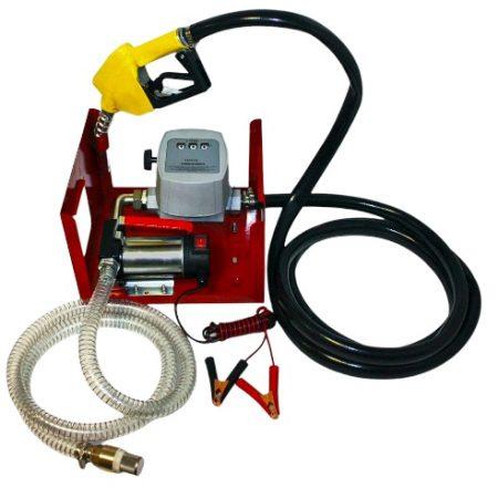 Üzemanyag töltő állomás, kút, szivattyú 12V DC gázolaj, biodízel, dízel, diesel kút pumpa
