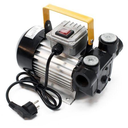Üzemanyag szivattyú 230V DC gázolaj kút szivattyú átfejtő pumpa 550W