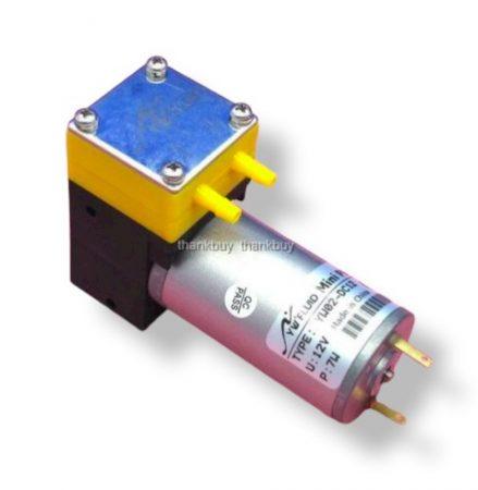 Vákuumszivattyú, 24V 50 kPa 0,5 bar vákuumpumpa 500 mA 3,2 liter/perc gázra