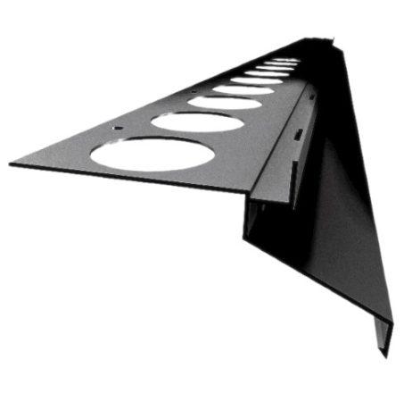 Drip vízvető profil erkély balkon terasz 40 mm túlnyúlás 1 szál 2,5 m teraszprofil balkonszegély min