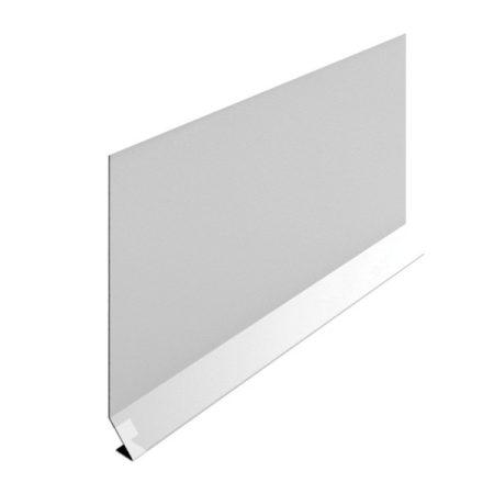 OX Stone és RT erkélyszegélyhez oldalfali magasító takaró lemez 100 mm magas 1 szál 2 m teraszprofil