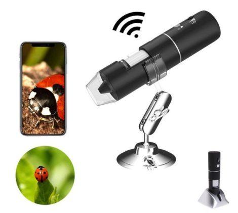 Vezeték nélküli wifi mikroszkóp 1000x