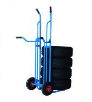 WT kerékszállító abroncsszállító kézikocsi molnárkocsi 200 kg teherbírás.
