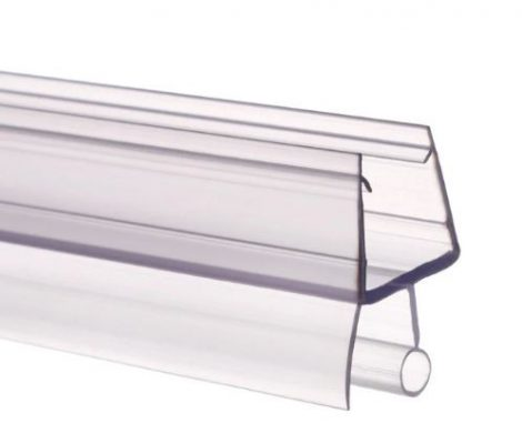 Zuhanykabin üvegajtó vízvető kádparaván szigetelés A 6 mm üvegajtóra élvédő 100 cm hosszú