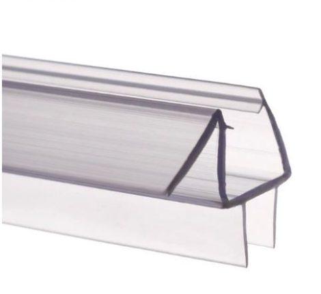 Zuhanykabin üvegajtó vízvető kádparaván szigetelés C 6 mm üvegajtóra élvédő 100 cm hosszú