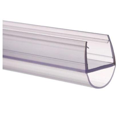 Zuhanykabin üvegajtó vízvető szigetelés D 6 mm üvegajtóra élvédő